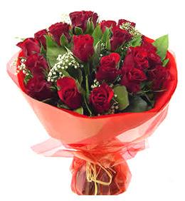 Aydın incir çiçek anneler günü çiçek yolla  11 adet kimizi gülün ihtisami buket modeli
