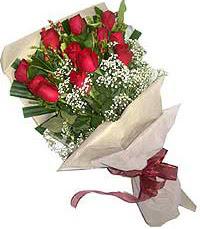 11 adet kirmizi güllerden özel buket  Aydın incir çiçek internetten çiçek siparişi