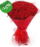 51 adet kırmızı gül buketi özel hissedenlere  Aydın incir çiçek çiçek siparişi sitesi