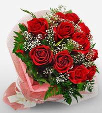 12 adet kırmızı güllerden kaliteli gül  Aydın incir çiçek çiçek siparişi vermek
