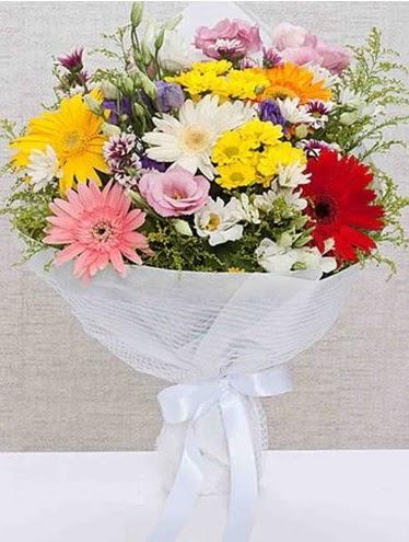 Karışık Mevsim Buketleri  Aydın incir çiçek ucuz çiçek gönder