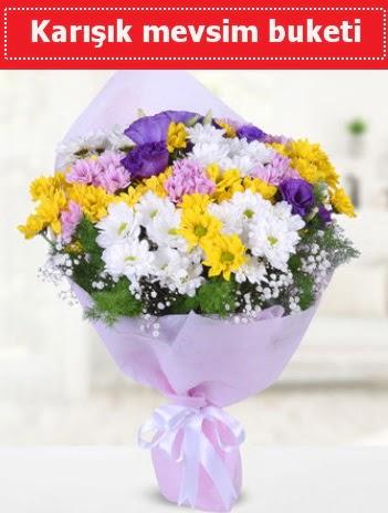 Karışık Kır Çiçeği Buketi  Aydın incir çiçek güvenli kaliteli hızlı çiçek