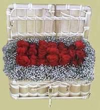 Aydın incir çiçek cicekciler , cicek siparisi  Sandikta 11 adet güller - sevdiklerinize en ideal seçim