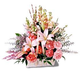 Aydın incir çiçek çiçek siparişi sitesi  mevsim çiçekleri sepeti özel tanzim