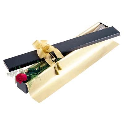 Aydın incir çiçek uluslararası çiçek gönderme  tek kutu gül özel kutu