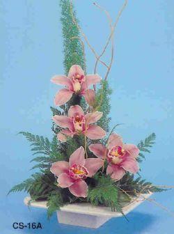 Aydın incir çiçek çiçekçi telefonları  vazoda 4 adet orkide