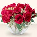 Aydın incir çiçek çiçek online çiçek siparişi  mika yada cam içerisinde 10 gül - sevenler için ideal seçim -