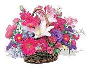 küçük karisik özel sepet   Aydın incir çiçek çiçek online çiçek siparişi