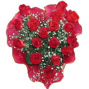 herseyi ile kirmizi buket   Aydın incir çiçek çiçek online çiçek siparişi