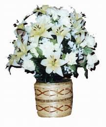 yapay karisik çiçek sepeti   Aydın incir çiçek çiçek mağazası , çiçekçi adresleri