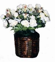 yapay karisik çiçek sepeti   Aydın incir çiçek cicek , cicekci