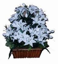 yapay karisik çiçek sepeti   Aydın incir çiçek online çiçek gönderme sipariş