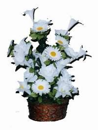 yapay karisik çiçek sepeti  Aydın incir çiçek çiçek siparişi vermek