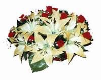 yapay karisik çiçek sepeti   Aydın incir çiçek internetten çiçek siparişi