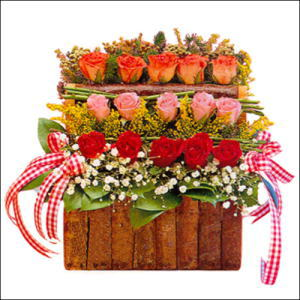 sandikta 3 kat güllerden   Aydın incir çiçek cicekciler , cicek siparisi
