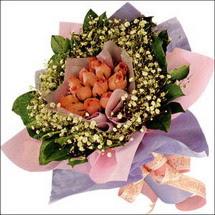 11  adet  gül ve   elyaflar   Aydın incir çiçek çiçekçi mağazası