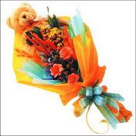 ayicik gül ve kir çiçekleri   Aydın incir çiçek çiçekçi mağazası