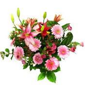 lilyum ve gerbera çiçekleri - çiçek seçimi -  Aydın incir çiçek çiçek gönderme