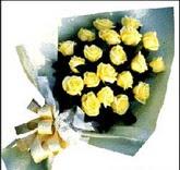 sari güllerden sade buket  Aydın incir çiçek çiçek , çiçekçi , çiçekçilik