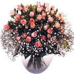 büyük cam fanusta güller   Aydın incir çiçek çiçek yolla