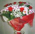 12 gül ve kir çiçeklerinden  Aydın incir çiçek çiçek yolla