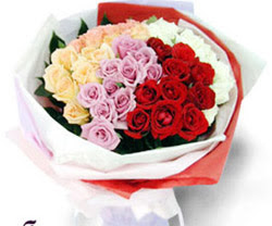 SEVENLERE ÖZEL 51 ADET GÜL  Aydın incir çiçek internetten çiçek satışı