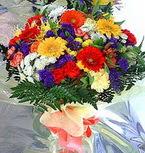 Aydın incir çiçek hediye çiçek yolla  karma büyük ve gösterisli mevsim demeti