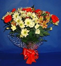Aydın incir çiçek hediye çiçek yolla  kir çiçekleri buketi mevsim demeti halinde