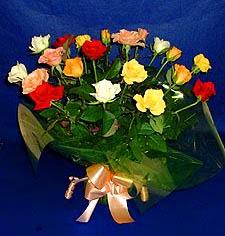 Aydın incir çiçek hediye çiçek yolla  13 adet karisik renkli güller