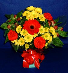 Aydın incir çiçek ucuz çiçek gönder  sade hos orta boy karisik demet çiçek