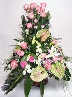 Aydın incir çiçek ucuz çiçek gönder  özel üstü süper aranjman
