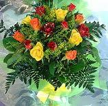 13 adet karisik gül buketi demeti   Aydın incir çiçek uluslararası çiçek gönderme