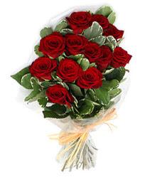 Aydın incir çiçek çiçek yolla , çiçek gönder , çiçekçi   9 lu kirmizi gül buketi.