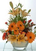 Aydın incir çiçek çiçek servisi , çiçekçi adresleri  cam yada mika vazo içinde karisik mevsim çiçekleri