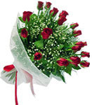 Aydın incir çiçek internetten çiçek satışı  11 adet kirmizi gül buketi sade ve hos sevenler