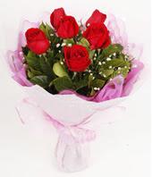 9 adet kaliteli görsel kirmizi gül  Aydın incir çiçek çiçek gönderme