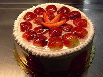 Meyvali yas pasta 4 ile 6 kisilik pasta  Aydın incir çiçek çiçek siparişi sitesi