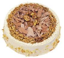 Karamelli 4 ile 6 kisilik yas pasta  Aydın incir çiçek çiçek yolla