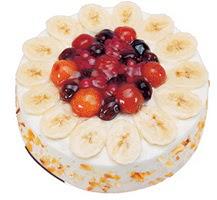 Meyvali 4 ile 6 kisilik yas pasta leziz  Aydın incir çiçek ucuz çiçek gönder