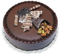 Çikolatali yas pasta 4 ile 6 kisilik  leziz  Aydın incir çiçek çiçek mağazası , çiçekçi adresleri