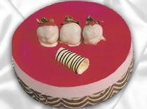pasta siparisi 4 ile 6 kisilik yas pasta çilekli yaspasta  Aydın incir çiçek çiçek servisi , çiçekçi adresleri