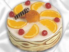 lezzetli pasta satisi 4 ile 6 kisilik yas pasta portakalli pasta  Aydın incir çiçek çiçekçi mağazası