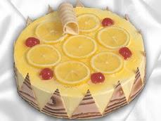 taze pastaci 4 ile 6 kisilik yas pasta limonlu yaspasta  Aydın incir çiçek online çiçek gönderme sipariş