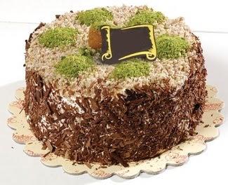 pasta gönderme 4 ile 6 kisilik çikolatali yas pasta  Aydın incir çiçek çiçek satışı