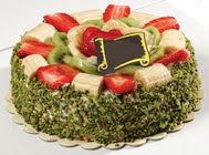 pasta gönder  4 ile 6 kisilik karisik meyvali yas pasta  Aydın incir çiçek internetten çiçek siparişi