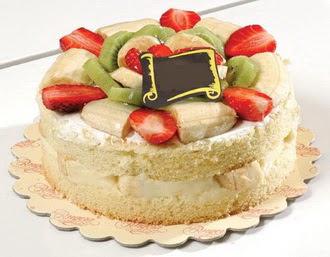 pasta siparisi 4 ile 6 kisilik karisik meyvali yas pasta  Aydın incir çiçek çiçek servisi , çiçekçi adresleri