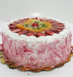 görsel pastacilar 4 ile 6 kisilik yas pasta karisik meyvali  Aydın incir çiçek çiçek online çiçek siparişi