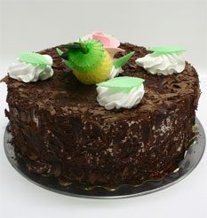 4 ile 6 kisilik yas pasta çikolatali leziz pastane ürünü  Aydın incir çiçek cicekciler , cicek siparisi
