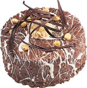 pasta satisi 4 ile 6 kisilik çikolatali yas pasta  Aydın incir çiçek incir çiçek İnternetten çiçek siparişi