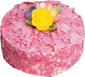 pasta siparisi 4 ile 6 kisilik framboazli yas pasta  Aydın incir çiçek çiçek yolla